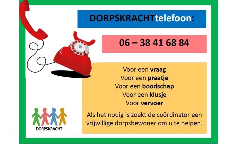 Dorpskracht Telefoon Hooghalen