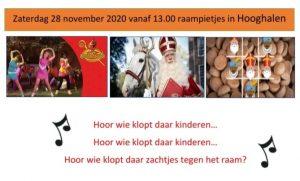 Sinterklaas raampiet hooghalen
